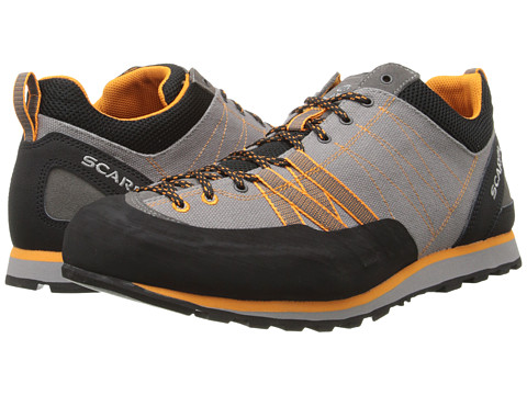 Scarpa - Crux Canvas (Grey/Orange) Men