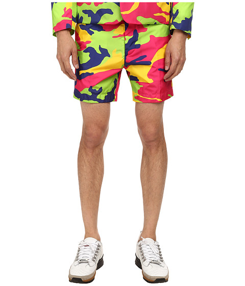 DSQUARED2 - Hockney Camouflage Nylon Short (Multi) Men's Shorts