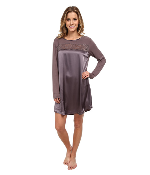 Midnight by Carole Hochman - Beautiful Nights Sleepshirt (Sweet Truffle) Women's Pajama