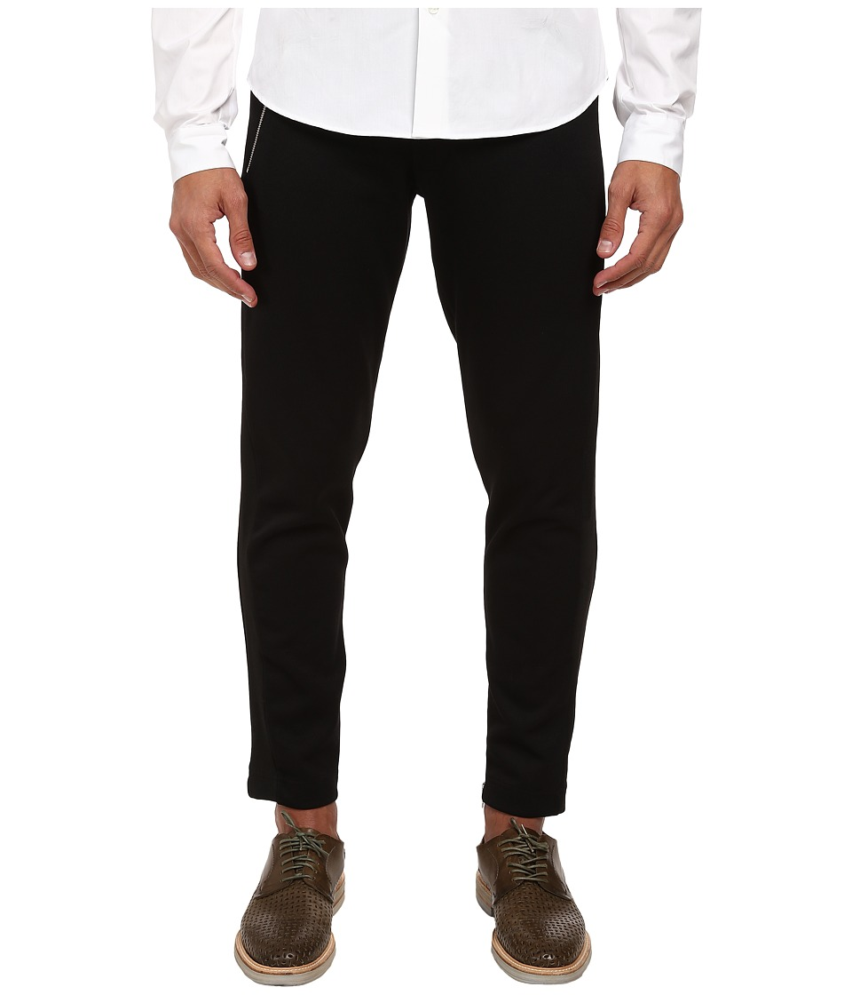 McQ - Sports Tux Trouser (Darkest Black) Men's Casual Pants