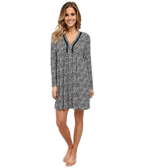 Midnight by Carole Hochman - Restful Mornings Sleepshirt (Whimsical Engravings) Women's Pajama