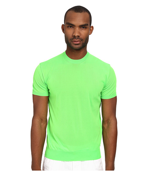 DSQUARED2 - S/S Crew Neck Sweater (Green) Men's Sweater