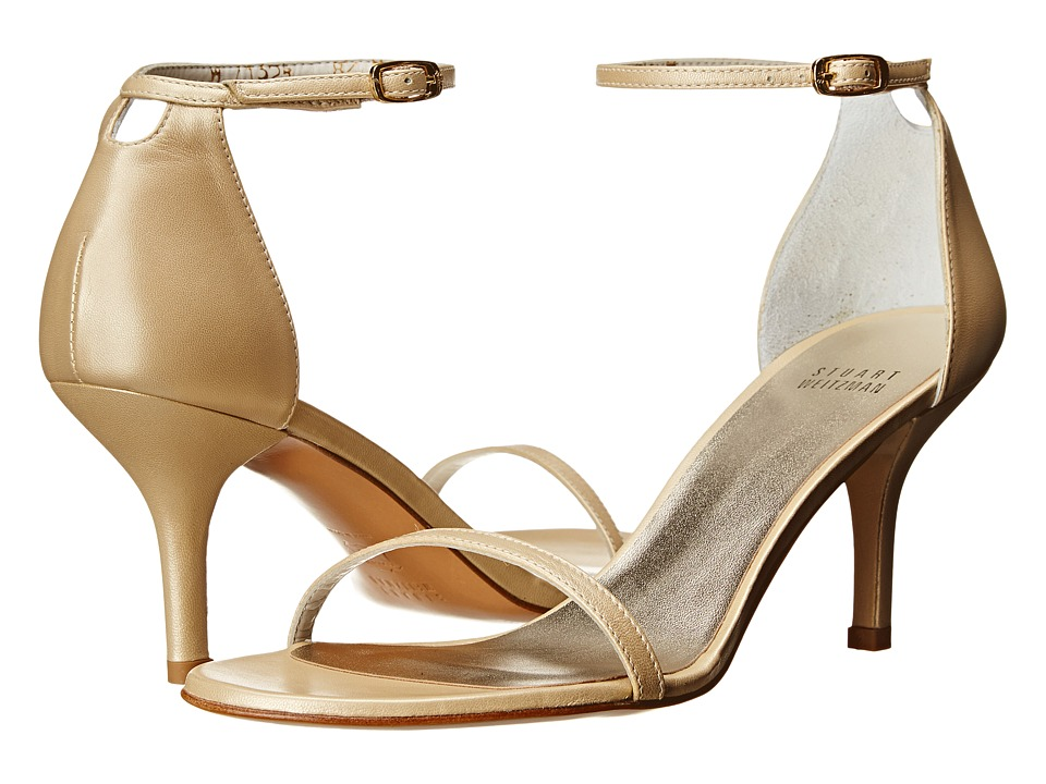 Stuart Weitzman Bridal & Evening Collection Naked (Pale Gold Mordore) High Heels
