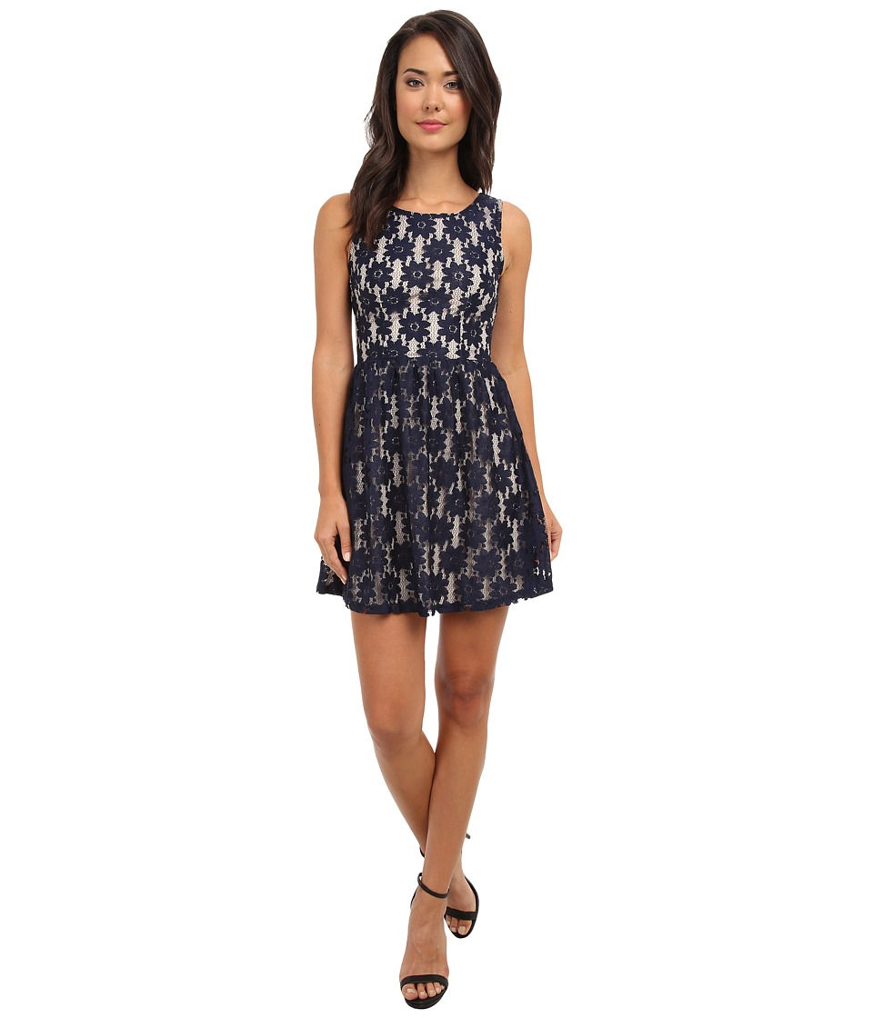 Brigitte Bailey - Willow Dress (Navy/Cream) Women