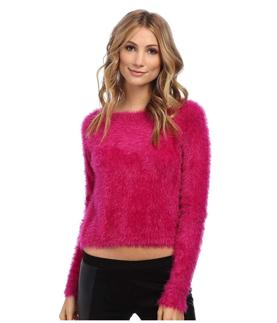 Brigitte Bailey - Sandra Sweater (Fuchsia) Women's Sweater