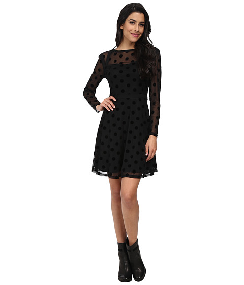 Brigitte Bailey - Polly Dress (Black) Women's Dress