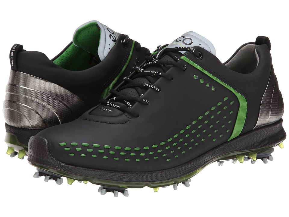 ECCO Golf BIOM G 2 (Black/Lime Punch) Men