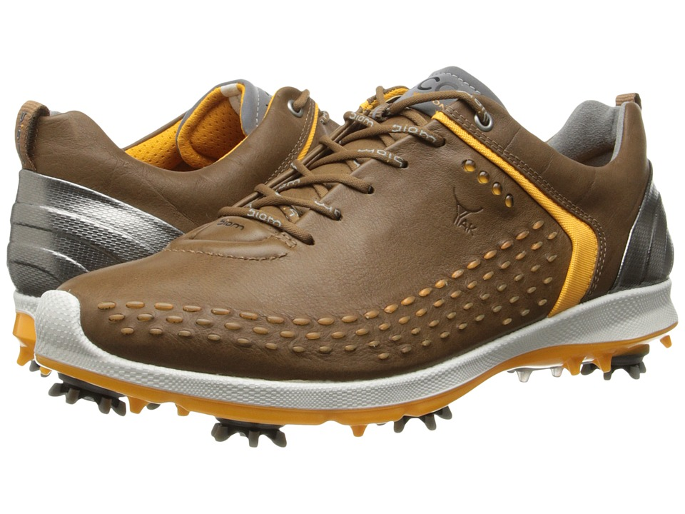 ECCO Golf - BIOM G 2 (Camel/Fanta) Men's Golf Shoes