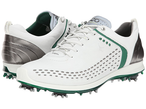 ECCO Golf - BIOM G 2 (White/Green) Men's Golf Shoes