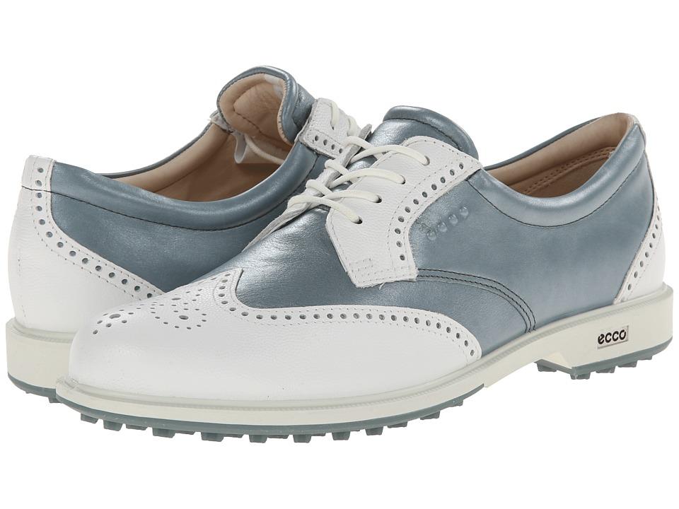 ECCO Golf Classic Golf Hybrid (White/Trooper) Women