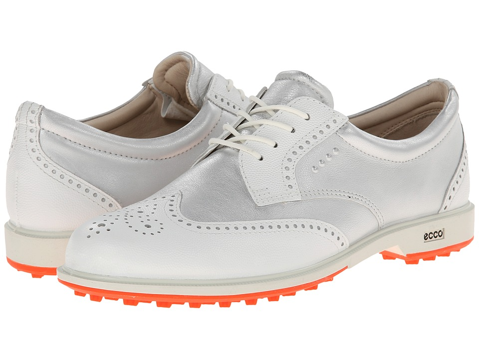ECCO Golf - Classic Golf Hybrid (White/White) Women's Golf Shoes