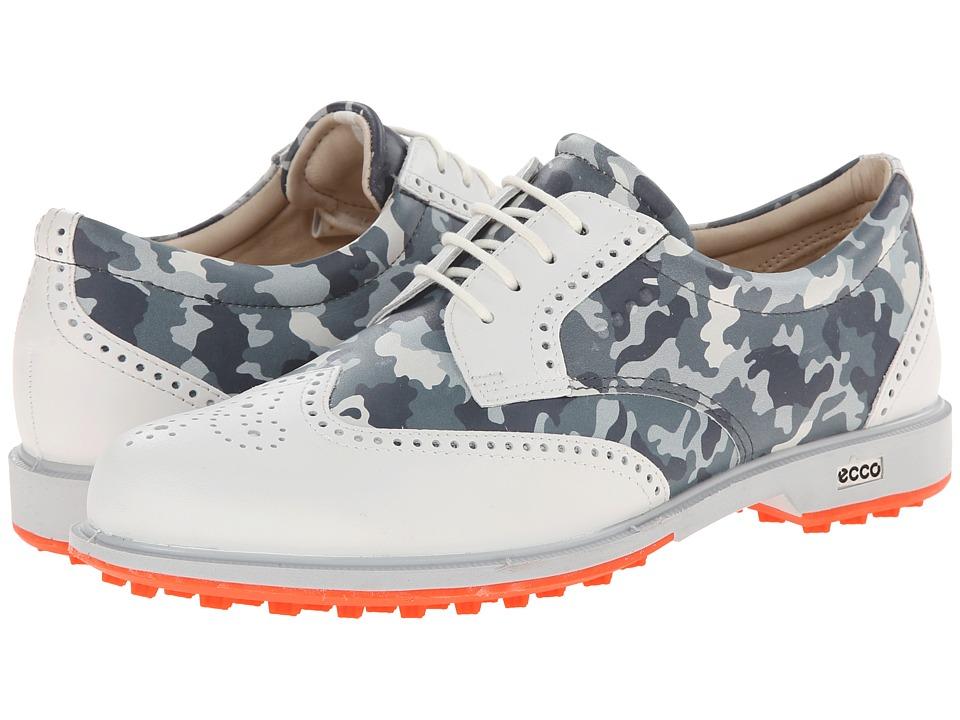 ECCO Golf - Classic Golf Hybrid (White/Titanium) Women