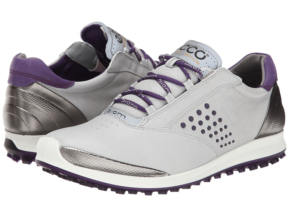 ECCO Golf - BIOM Hybrid 2 (Concrete/Imperial Purple) Women
