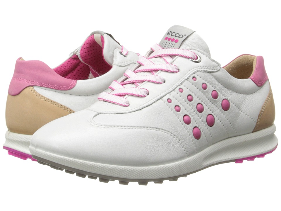 ECCO Golf - Street EVO One Sport (White/Candy) Women's Golf Shoes