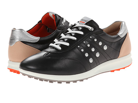 ECCO Golf - Street EVO One Sport (Black/Fire) Women