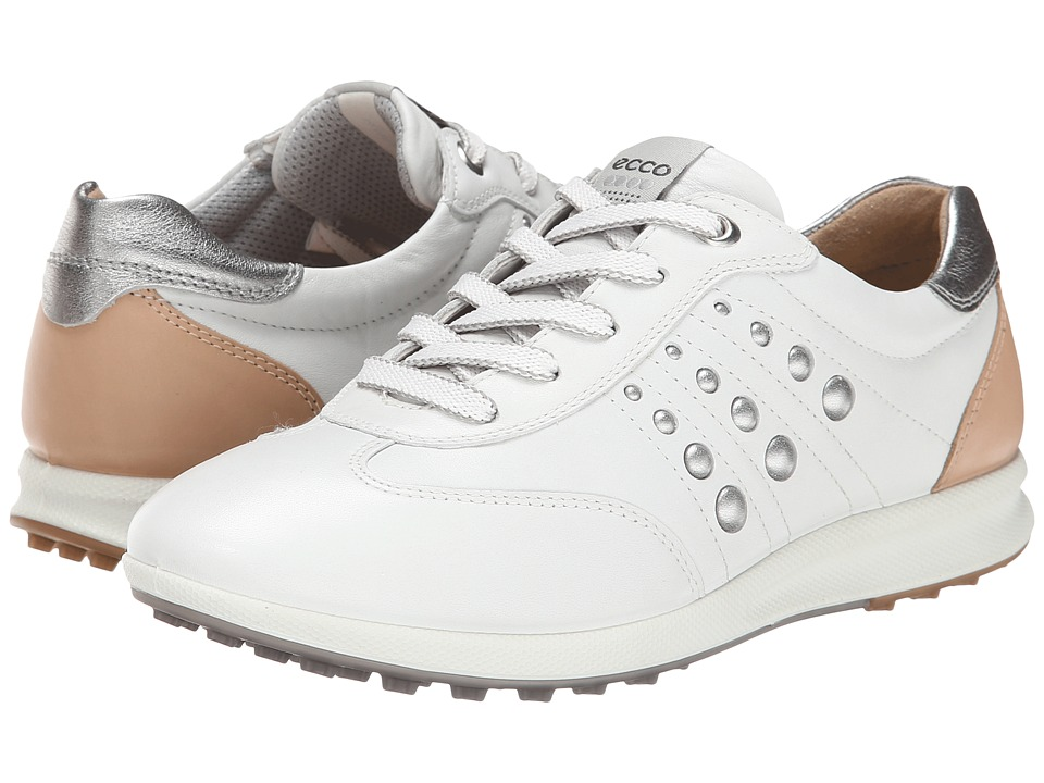 ECCO Golf - Street EVO One Sport (White/Mineral) Women's Golf Shoes