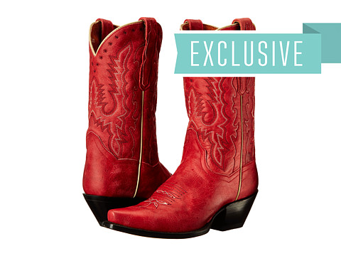 Dan Post - Temptation (Red) Cowboy Boots