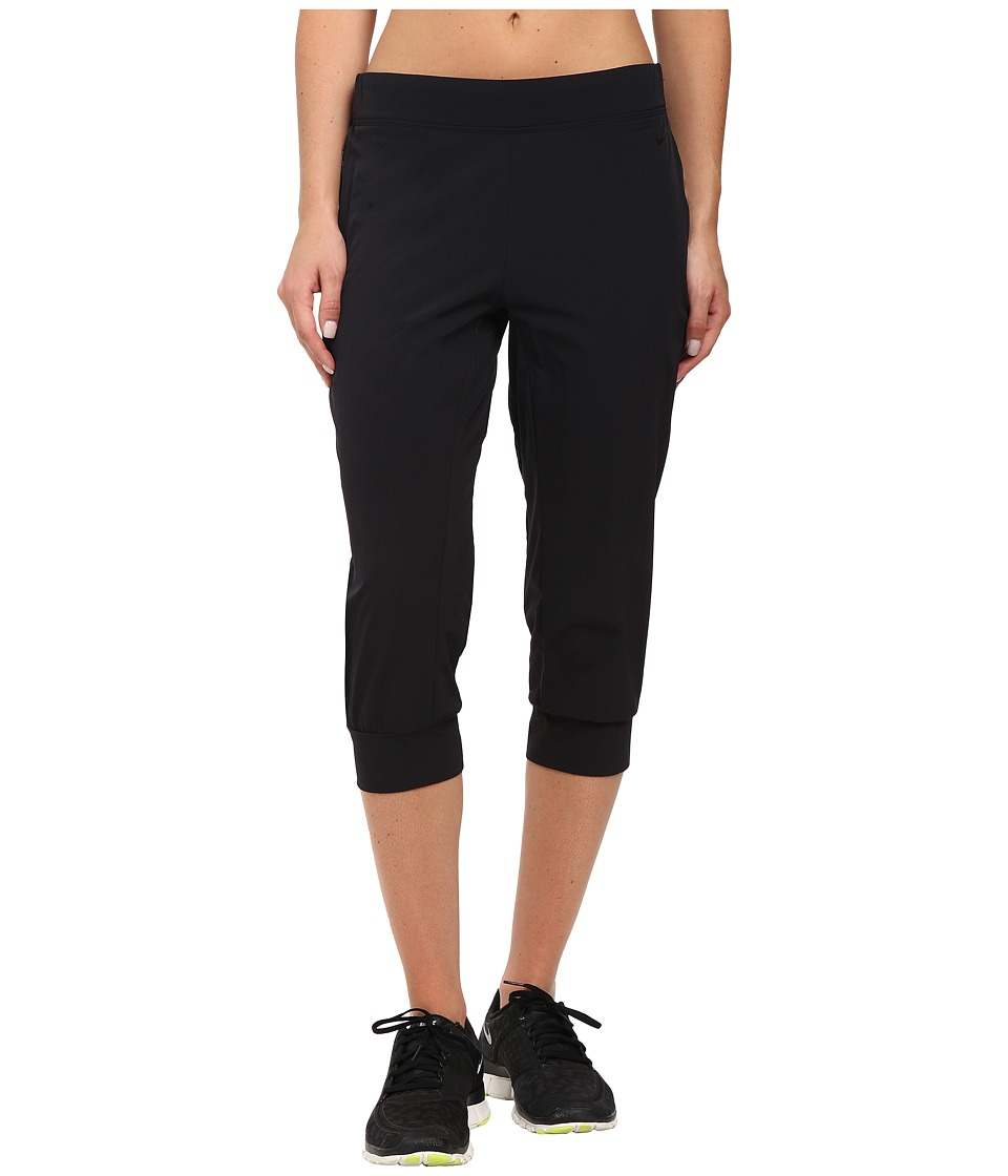 Nike - Bliss Woven Capri (Black) Women