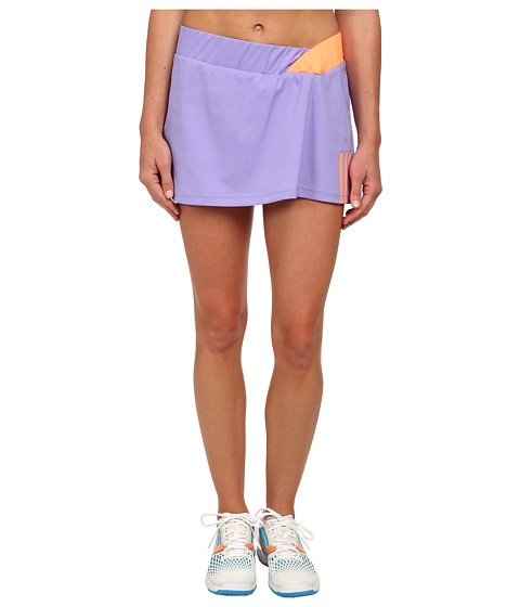 adidas - Response Skort (Light Flash Purple/Flash Orange) Women's Skort