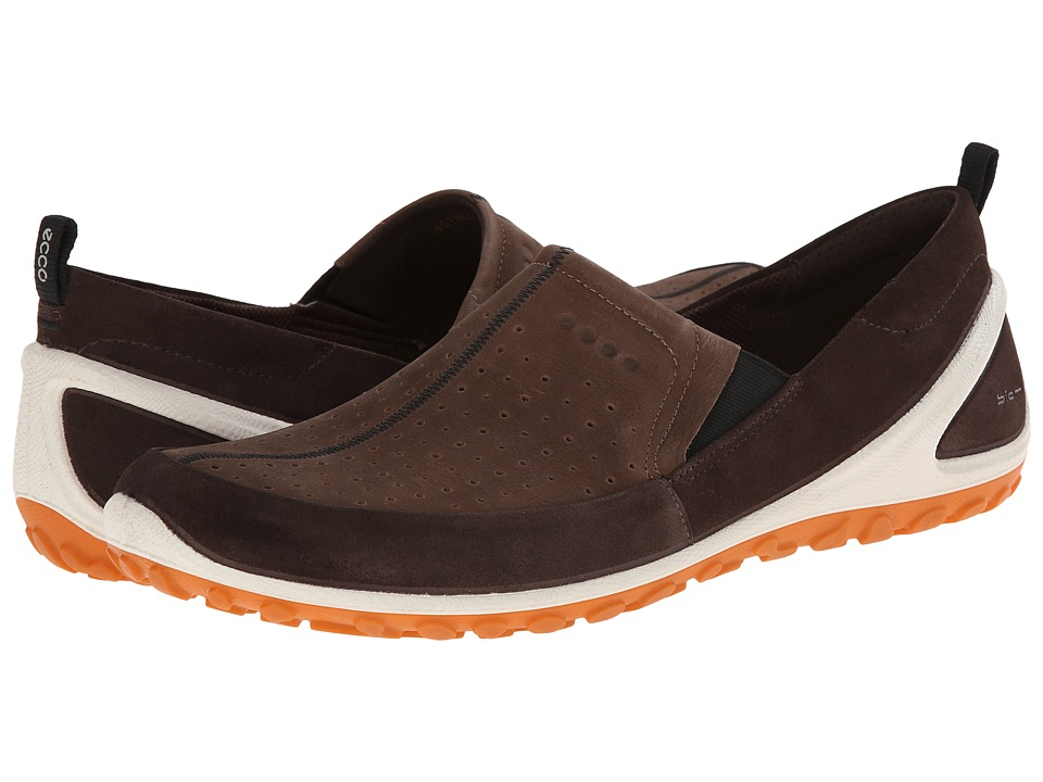ECCO Sport - BIOM Lite Slip On (Coffee/Camel/Orange) Men's Walking Shoes