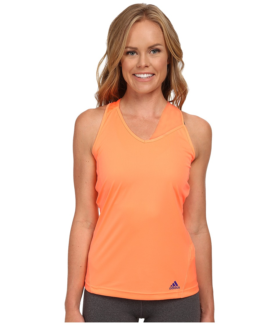 adidas - Response Tank (Flash Orange/Night Flash) Women
