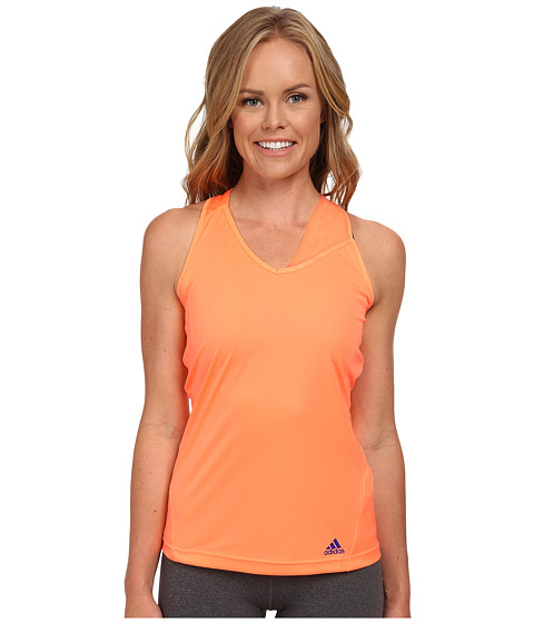 adidas - Response Tank (Flash Orange/Night Flash) Women's Sleeveless