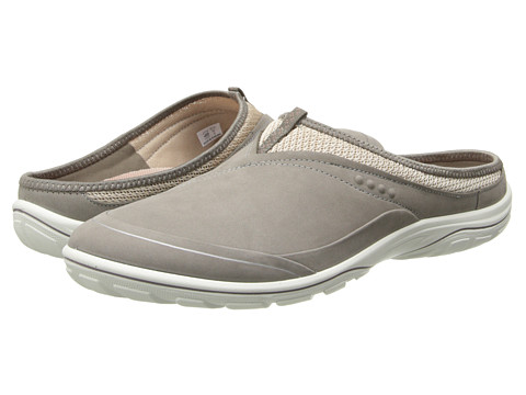 ECCO Sport - Arizona Slide (Warm Grey/Gravel/Woodrose) Women's Clog Shoes