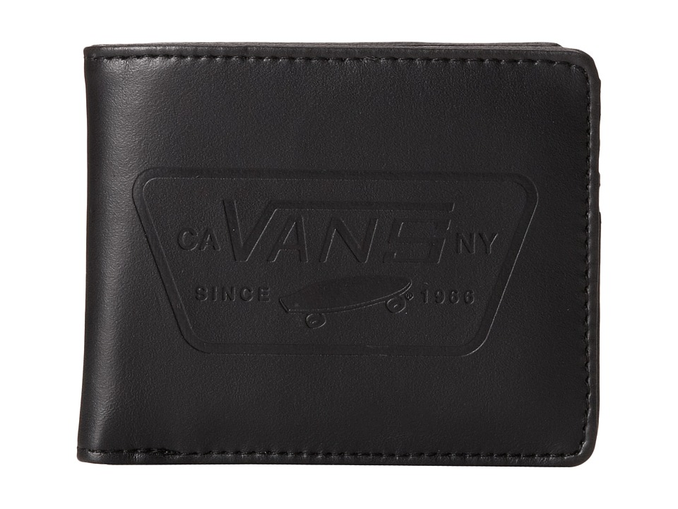 Vans - Full Patch Bi-Fold (Black) Bi-fold Wallet
