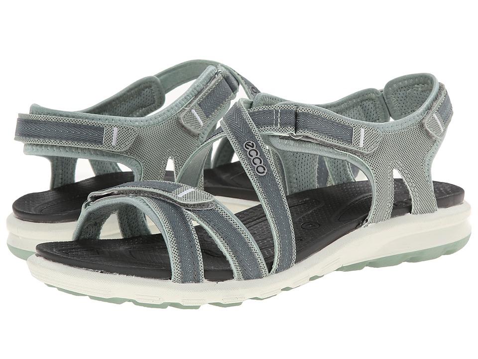 ECCO Sport - Cruise Strap Sandal (Ice Flower/Trooper) Women's Shoes