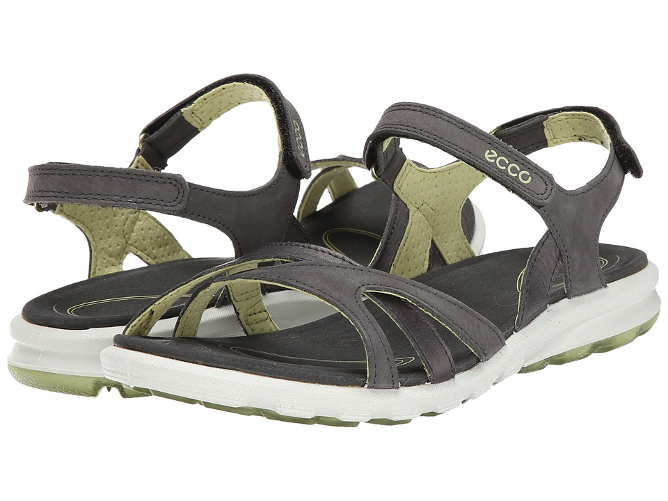 ECCO Sport - Cruise Strap Sandal (Dark Shadow/Peppermint) Women's Shoes