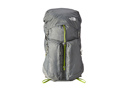 The North Face - Banchee 50 (Zinc Grey/Macaw Green) Backpack Bags