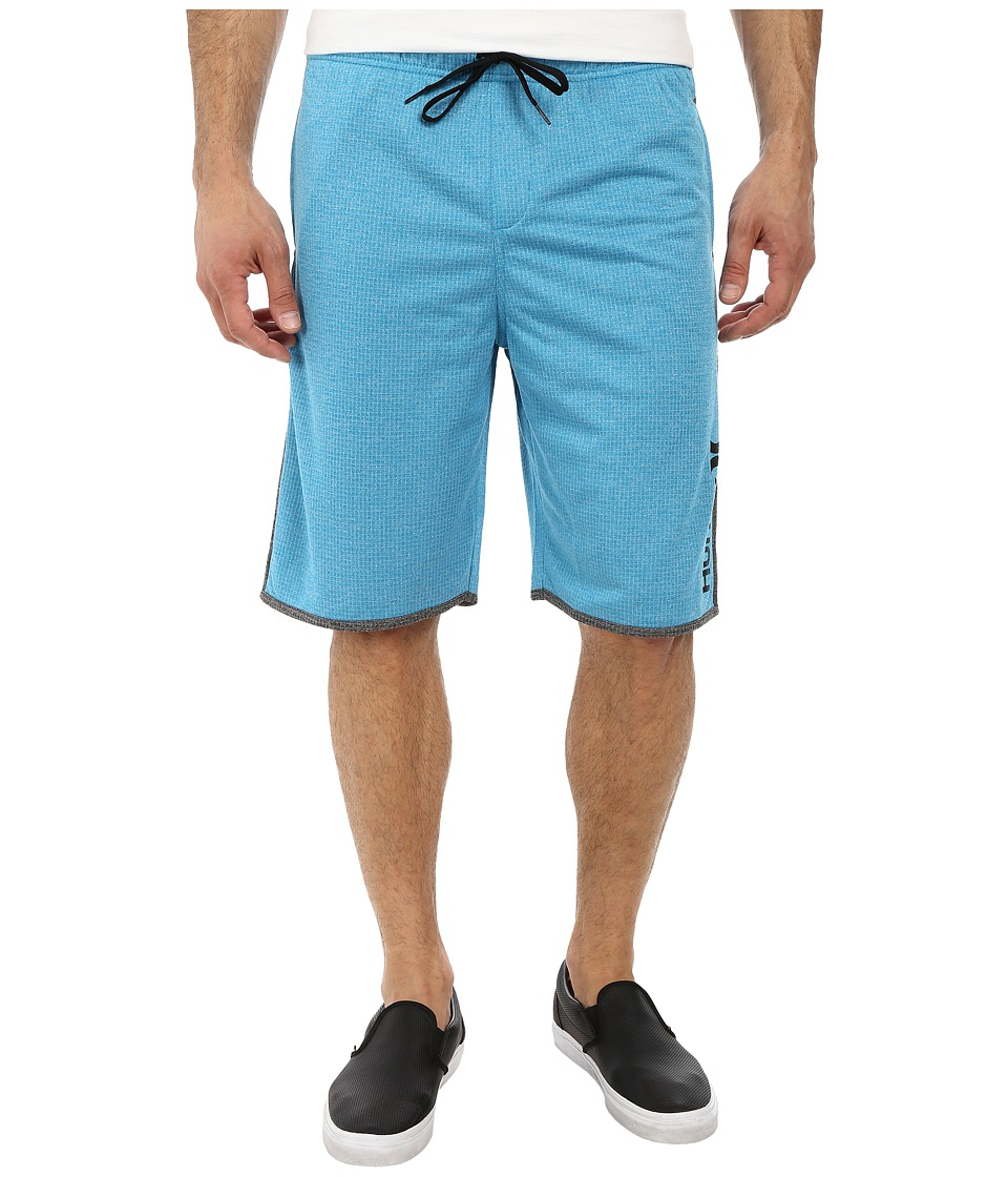 Hurley - Dri-Fit Grunge Mesh Short (Blue Lagoon) Men