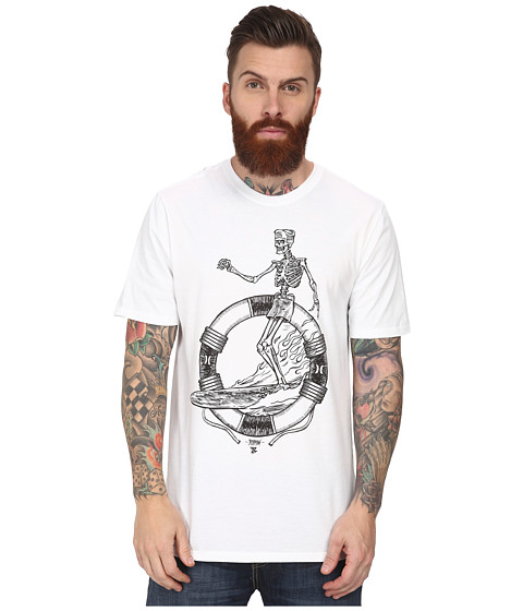 Hurley - Bones Tee (White) Men's T Shirt