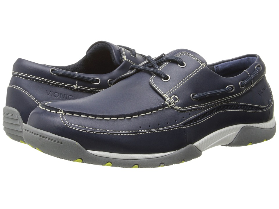 VIONIC - Eddy (Navy) Men's Shoes