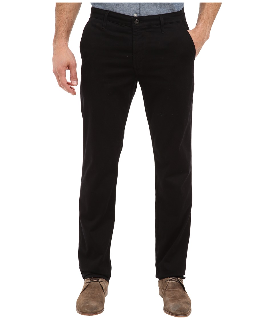 AG Adriano Goldschmied - The Lux Khaki (Super Black) Men's Jeans
