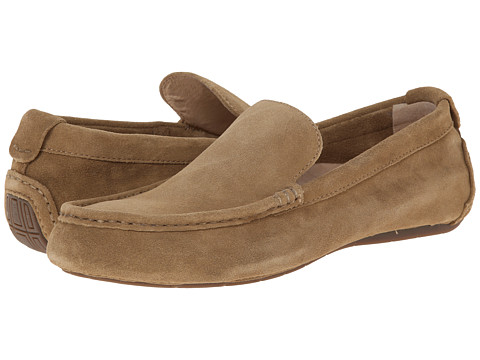 VIONIC with Orthaheel Technology - Parker (Sand) Men's Slip on Shoes