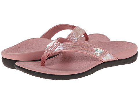 VIONIC with Orthaheel Technology - Tide Sequins (Rose) Women's Sandals