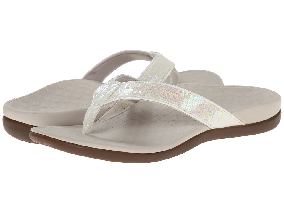 VIONIC - Tide Sequins (White) Women's Sandals