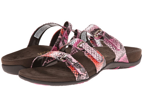VIONIC with Orthaheel Technology - Aubrey (Pink Snake) Women