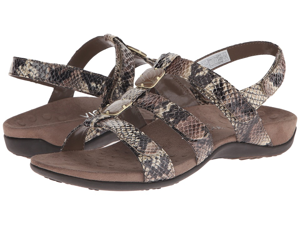 VIONIC - Amber (Natural Snake PU) Women's Sandals