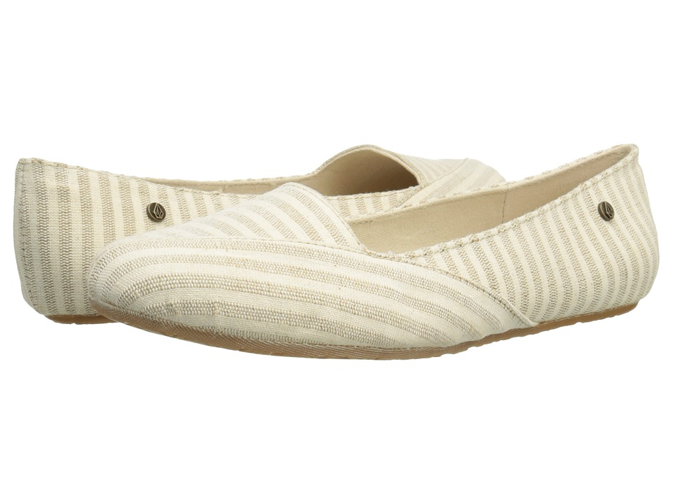 Volcom - Game on 2 (Tan) Women's Flat Shoes