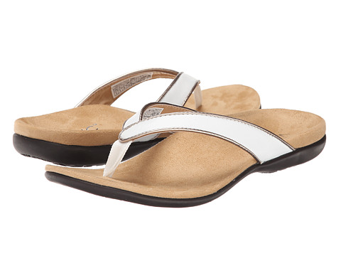 VIONIC with Orthaheel Technology - Selena (White) Women's Sandals