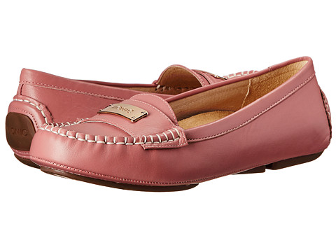VIONIC with Orthaheel Technology - Sydney Flat Driver (Light Pink) Women