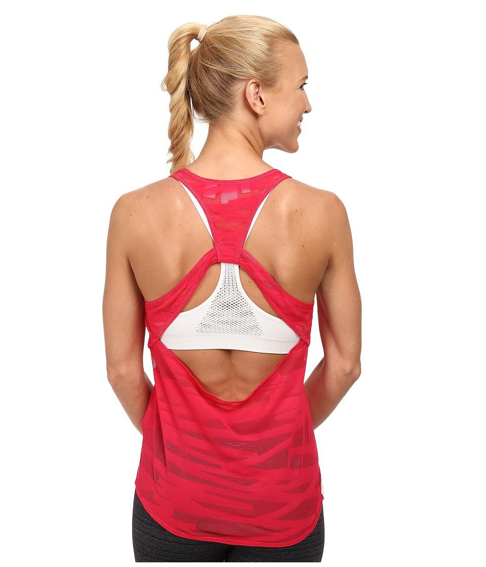 PUMA - Mesh It Up Layer Tank (Virtual Pink) Women's Sleeveless