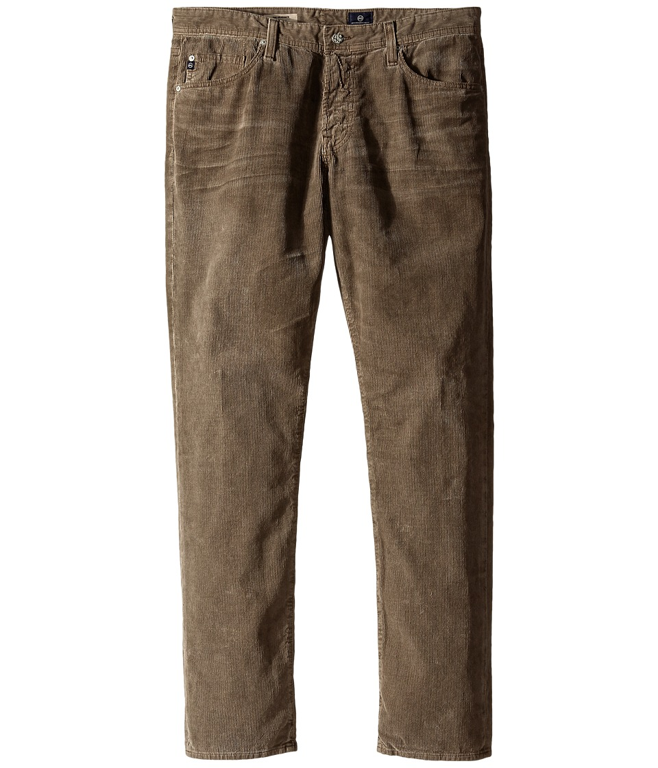 AG Adriano Goldschmied - The Graduate Tailored Straight Cord (Hi White Worn Brindle) Men's Jeans