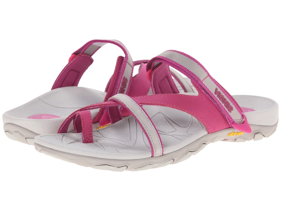 VIONIC - Mojave Vionic Sport Recovery Toepost Sandal (Muir Berry/Grey) Women's Shoes