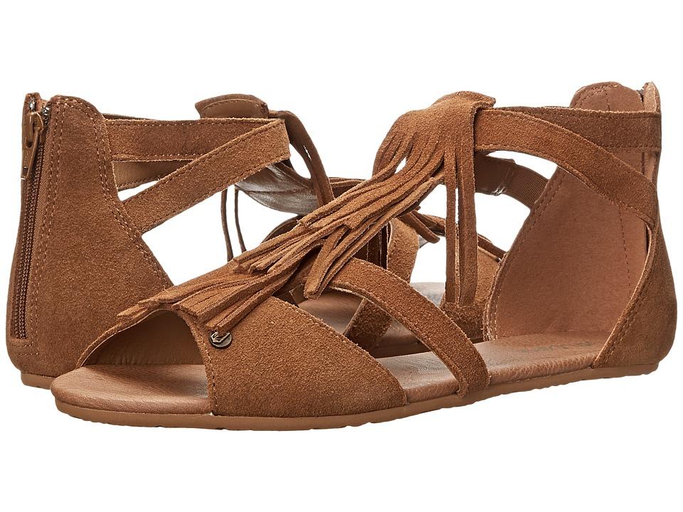 Volcom - Backstage (Cognac) Women's Sandals