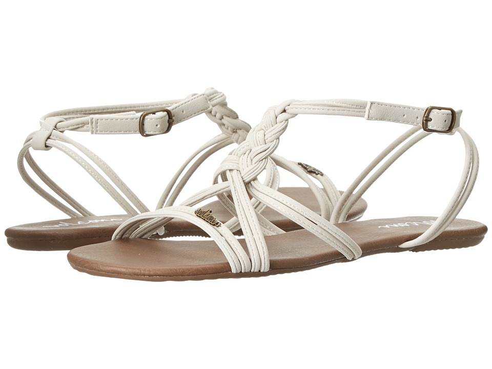 Volcom - Too Good (White) Women's Sandals