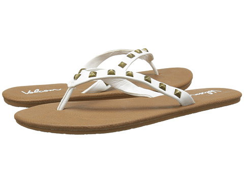 Volcom - Pretty Legit (White) Women's Sandals