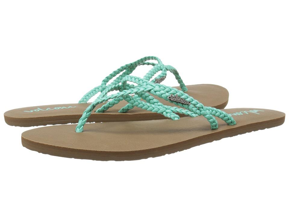Volcom - Party (Aqua) Women's Sandals